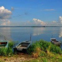Лодки на озере. :: Olcen Len