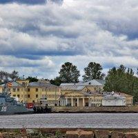 Вид на Купеческую гавань со стороны Финского залива :: Nina Karyuk