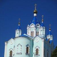Главный монастырский храм - Собор Рождества Пресвятой Богородицы :: Надежд@ Шавенкова