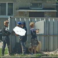 Рыцари с соседнего двора. На каникулах. :: Михаил Полыгалов