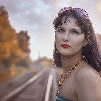 Жду тебя... :: Malinka Art Galina Paigetova