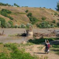 Лето на реке Кубань :: Игорь Сикорский