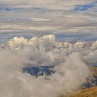 Над облаками :: Сергей Цветков