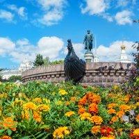 Афанасий Никитин и цветы :: Юлия Батурина