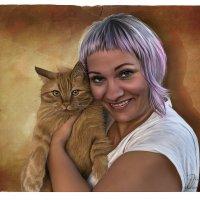 любимый коте.... :: николай дубовцев