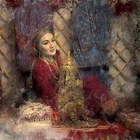 Туркменская невеста. :: Ахмед Овезмухаммедов