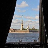 Отдёрнув шторы, взглянем на Неву... :: Nina Karyuk