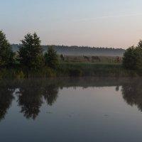 Утро на реке. :: Виктор Евстратов