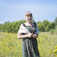 в деревне летом :: Юлия Воробьева