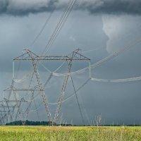 Линия электропередачи 1150 кВ :: Дмитрий Конев