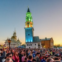 Праздник Невьянской башни :: Вячеслав Овчинников