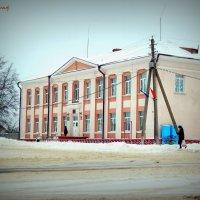 Заснеженный город :: Сашко Губаревич