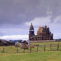 Деревянные церкви Руси.Кижи. :: Александр Белый