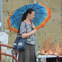 Под зонтом. :: Андрей + Ирина Степановы