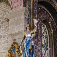 cтатуя Жанна д'Арка в церкви в деревни Крок :: Георгий А