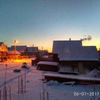 Канун Рождества.Вид из окна :: Марина Ворошко (Митьковец)