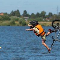 Юный спортсмен фан джампа. :: Виктор Евстратов