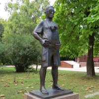 Памятник фотографу :: Вера Щукина
