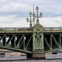 Чугунное кружево питерских мостов :: Nina Karyuk