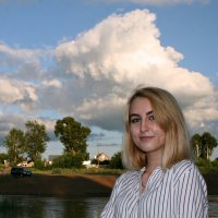 Облака летят над миром над моею головой... :: Евгений Юрков