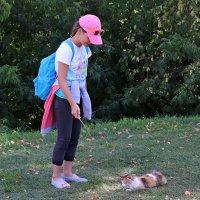 Девочка и кошка :: Andrew
