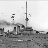 """French battleship """"Voltaire"""" in Toulon, 1913. :: Александр"""
