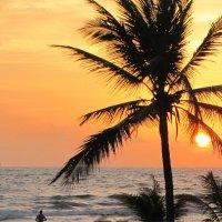 Закат на Индийском океане. :: ИРЭН@ .