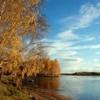 Жёлтым листиком в реке утонуло лето... :: Нэля Лысенко