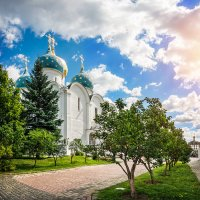 Успенский собор в Лавре :: Юлия Батурина