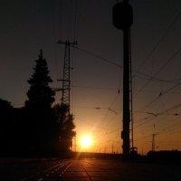 Заход солнца! :: Оксана Романова