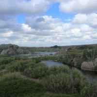 Озерцо на берегу реки Ишим :: Вячеслав & Алёна Макаренины
