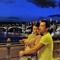 Двое в ночном городе :: Вячеслав Маслов