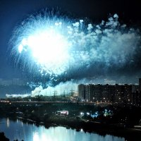 Всё стало вокруг голубым и зелёным... :: Анатолий Колосов