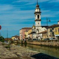 Канал в Батталья-Терме (Италия) :: Андрей Крючков