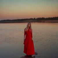 На реке Вага :: Женя Рыжов