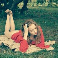 Young Summer Popass. Lolita On The Green Grass :: Михаил Андреев