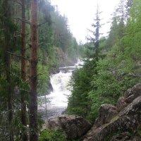 Водопад Кивач :: Виктор Мухин