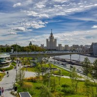 Москва. Парк Зарядье :: Николай Николенко