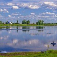 Озеро Моша, полдень :: Виктор Заморков