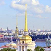 Вид на город с колоннады Исаакиевского собора  1 :: Сергей