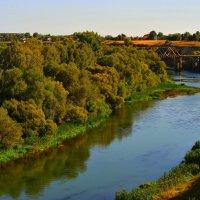 Река Зуша. Мценск,Орловская область :: Леонид Абросимов