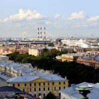 Вид на город с колоннады Исаакиевского собора 13 :: Сергей