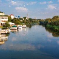 Июльское утро на канале реки Цны :: Сергей