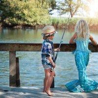 Рыбак и русалка :: Наталия Ефремова