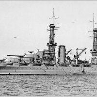"Battleship USS ""Arizona"" at anchor. :: Александр"
