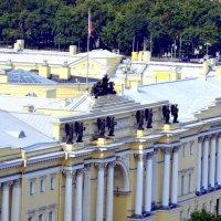 Вид на город с колоннады Исаакиевского собора  20 :: Сергей