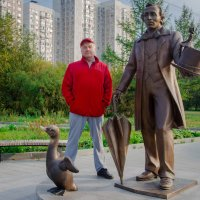 встреча со знаменитостью! :: Валерий Гудков