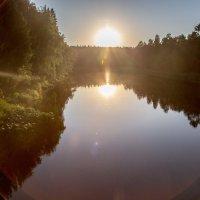 Закат на Чусовой :: игорь козельцев