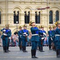 Церемониал на Красной площади :: Ирина Бирюкова