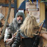 Рыцарь и красотка №4 :: Олег Чемоданов
